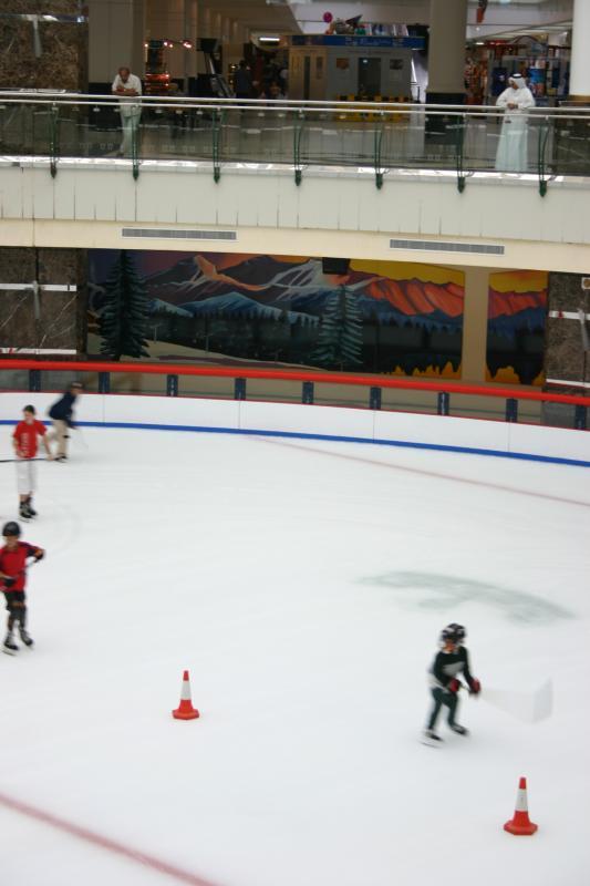 Doha ice