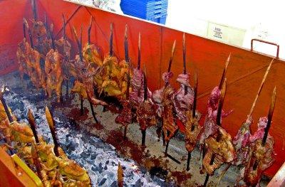 Pollos al Pastor El Pistache.