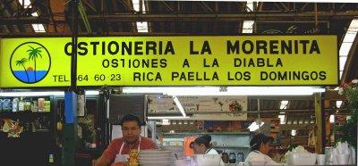 Ostionería La Morenita, Mercado Medellin,  Colonia Roma