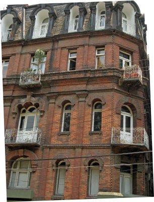 Edificio Río de Janeiro details, Colonia Roma