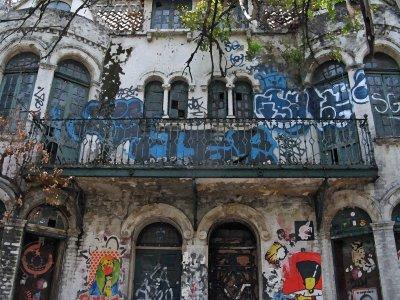 Casa La Fea, Av. Alvaro Obregon, Colonia Roma en Color