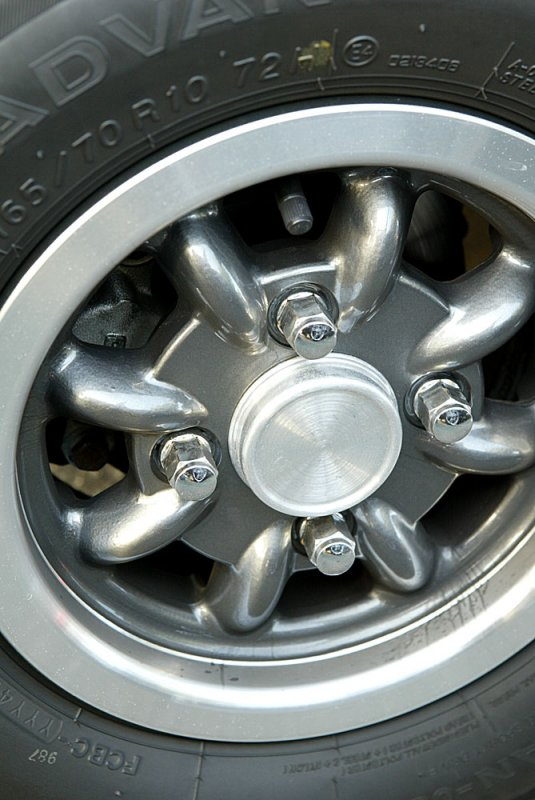 Classic Mini Cooper wheel