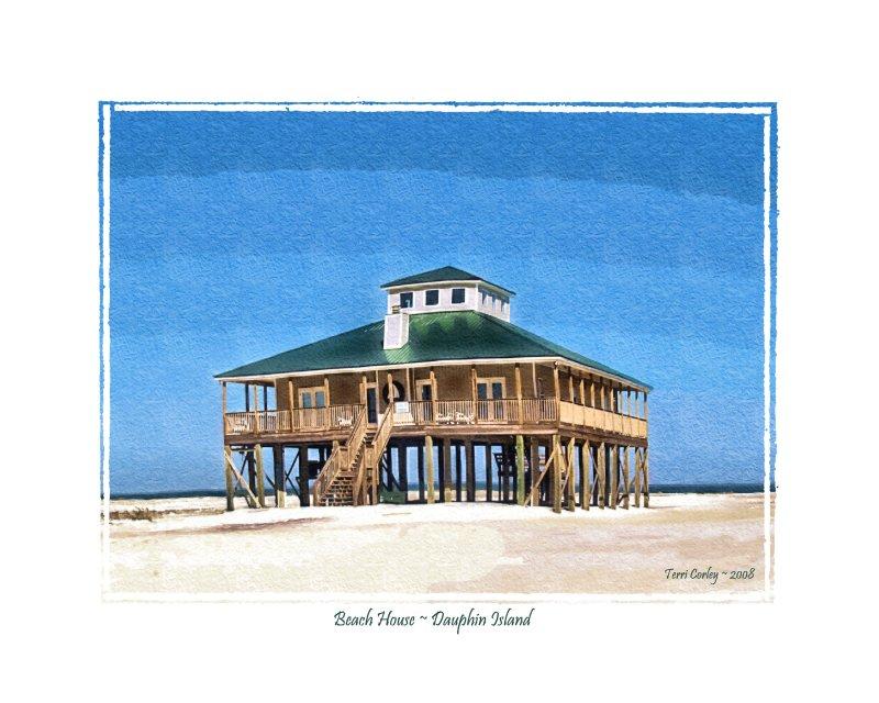 Beach House ~ Dauphin Island