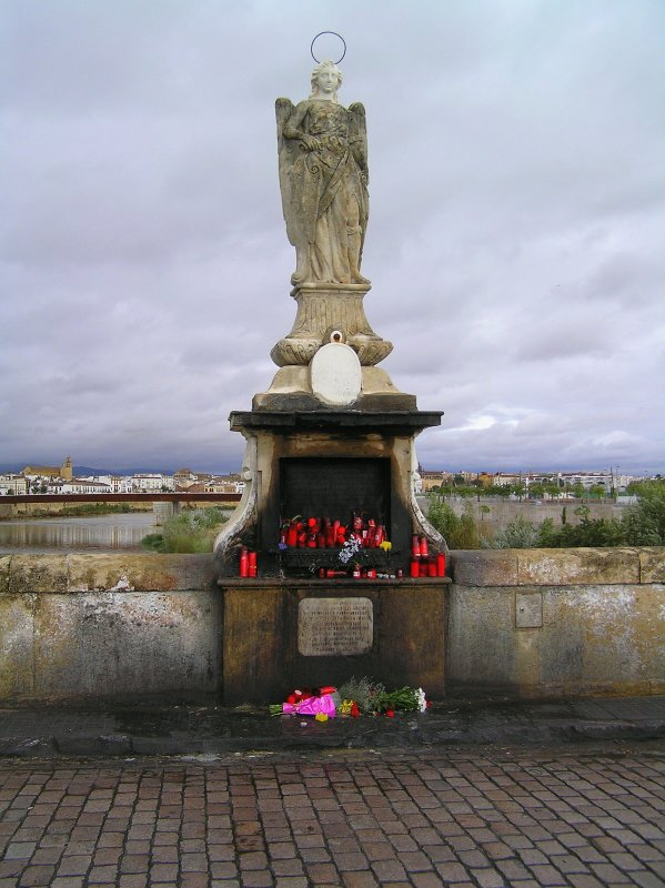 Cordoba, Spain river statue
