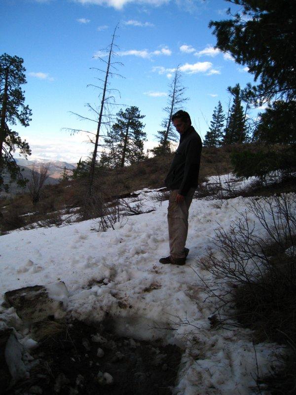 trail w/o ice chunks removed