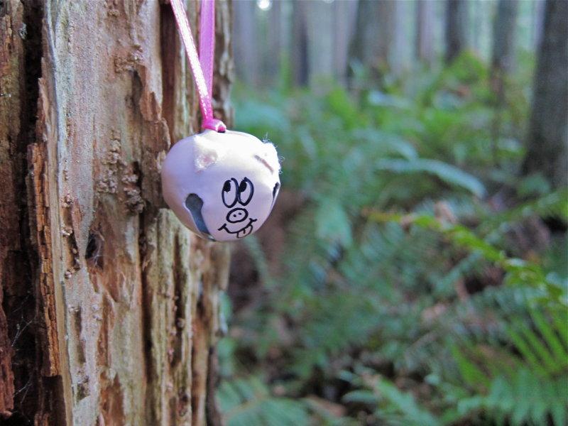 Left over Pigtails ornament