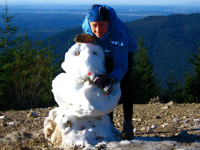 What the snowman learned about love