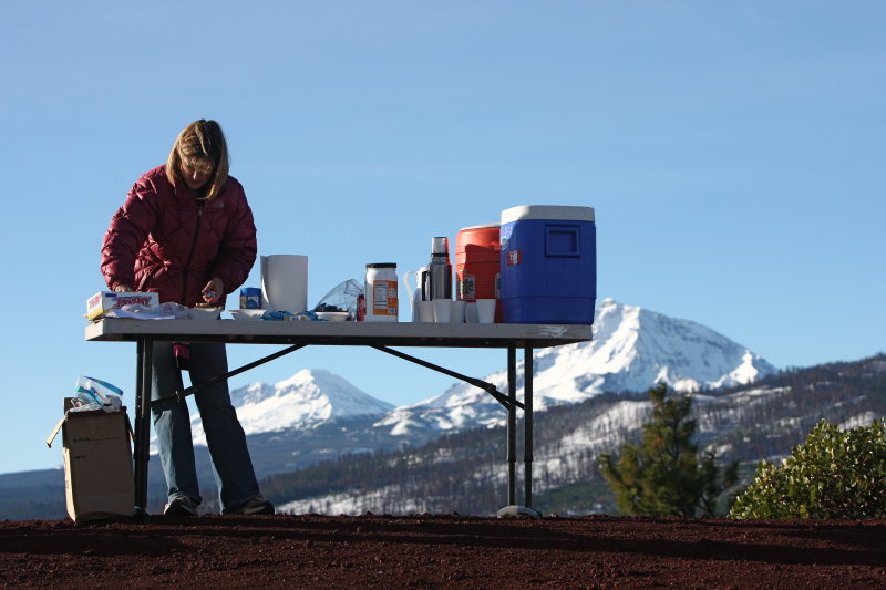 Aid Station with a View