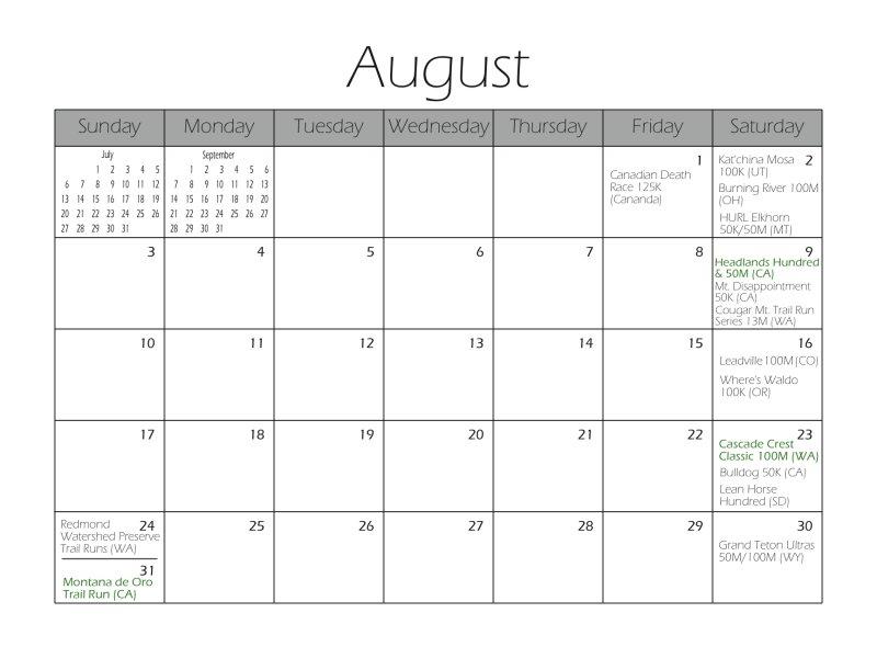 Month Sample