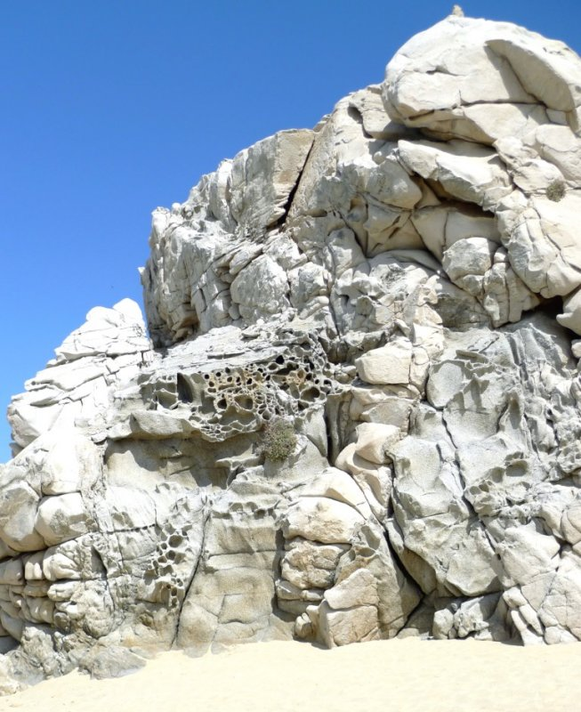 Rock  Formation on Sunset Beach
