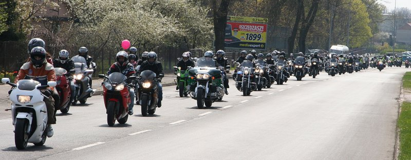 Motorcycles parade