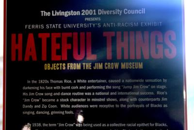 Hateful Things – Exhibit by the Jim Crow Museum