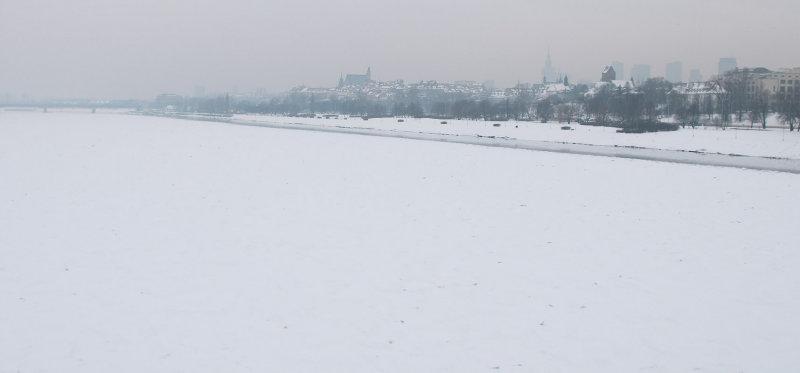 Foggy Winter Panorama