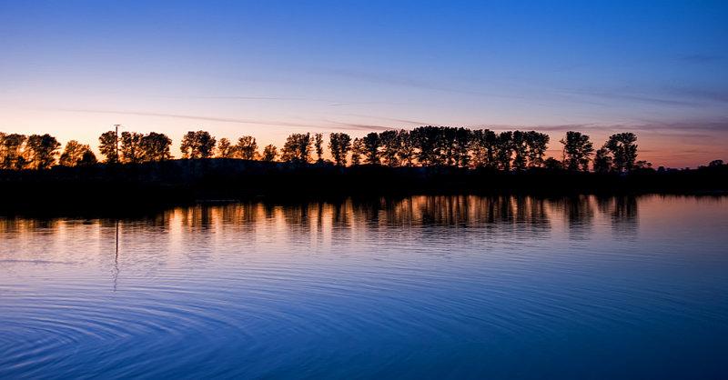 Nightfall Reflected