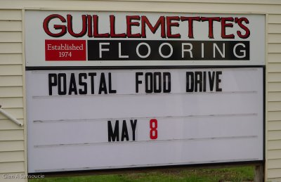 Day 122 -  Poastal Food Drive