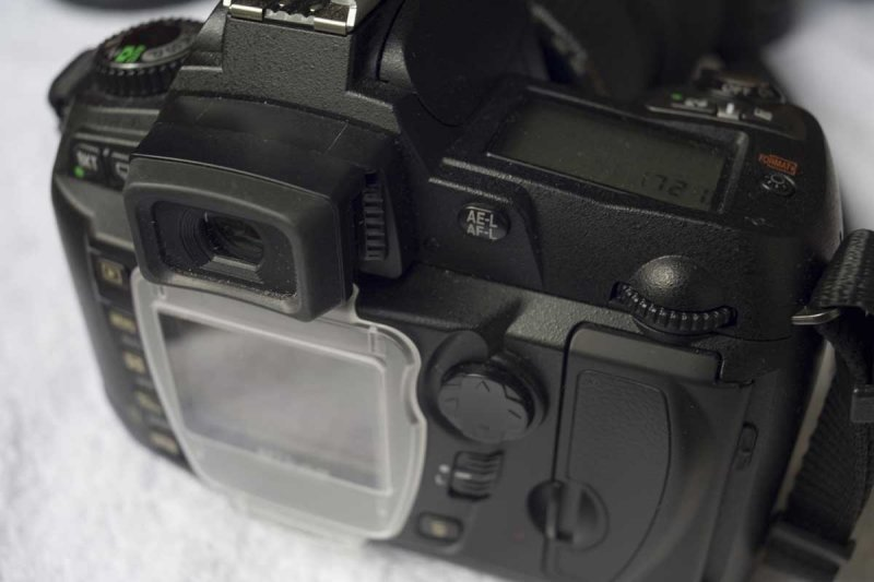 D70 with DK-21M