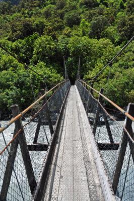 Swing Bridge, Fox Glacier