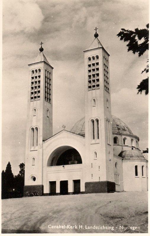 Nijmegen, RK Cenakelkerk h Landstichting, circa 1955