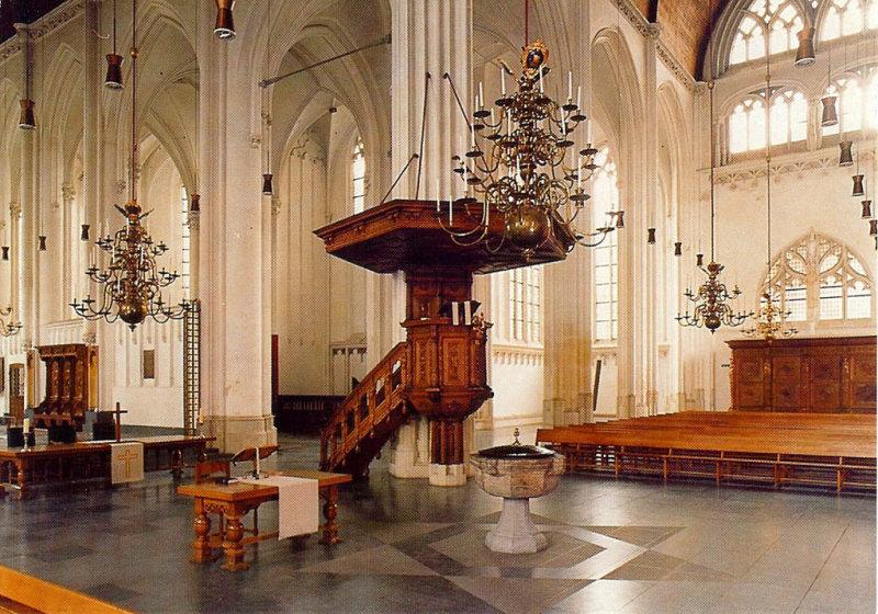 Nijmegen, prot gem Grote of St Stevenskerk interieur 2 photo - Pijk ...