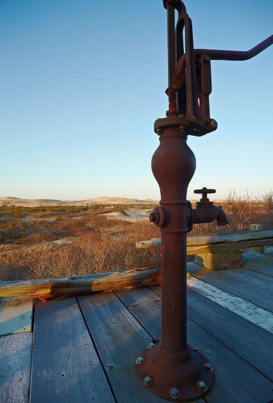 March : Water Pump Provincetown Dunes