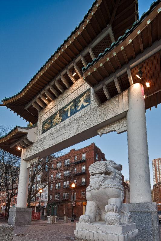 February : Chinatown