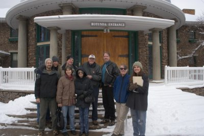 Group Photo from December 2006 Rotunda at Lowell Observatory