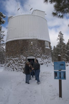 This building houses the Pluto Scope, an astrograph where Burnham photod the sky for the Proper Motion Survey