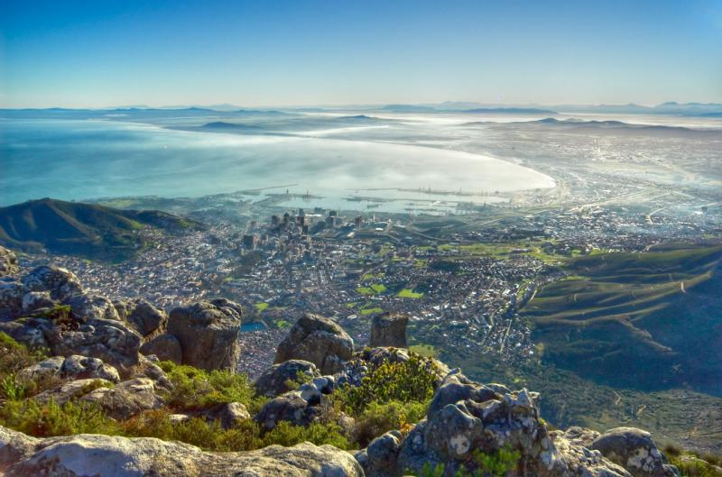 Cape Town from Table Mountain _DSC0529l