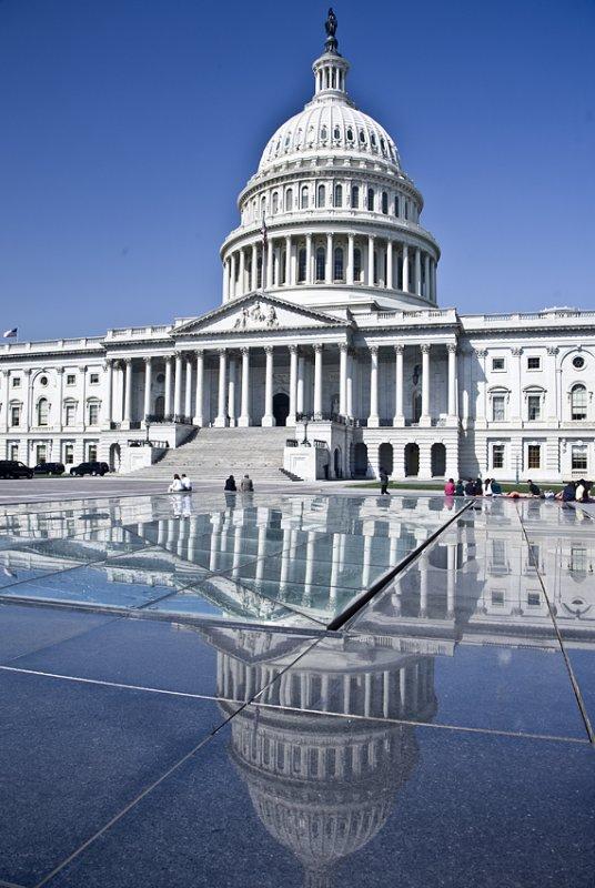 The Capitol, Washington DC.