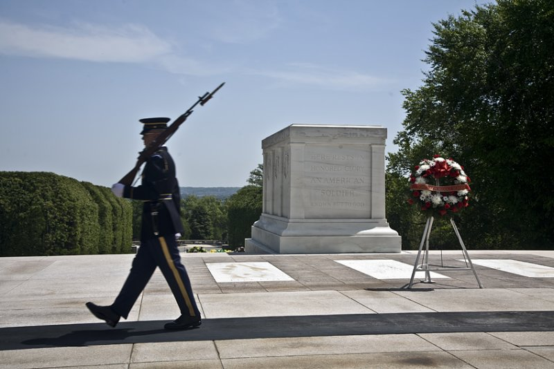 Unknown soldier memorial, Arlington