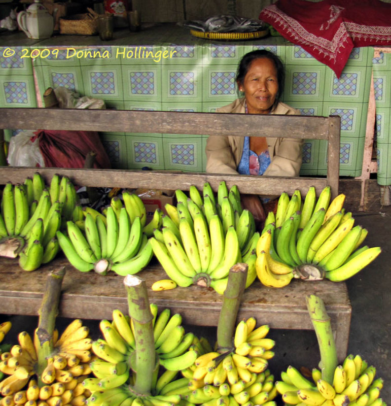 Bananas and the Vendor