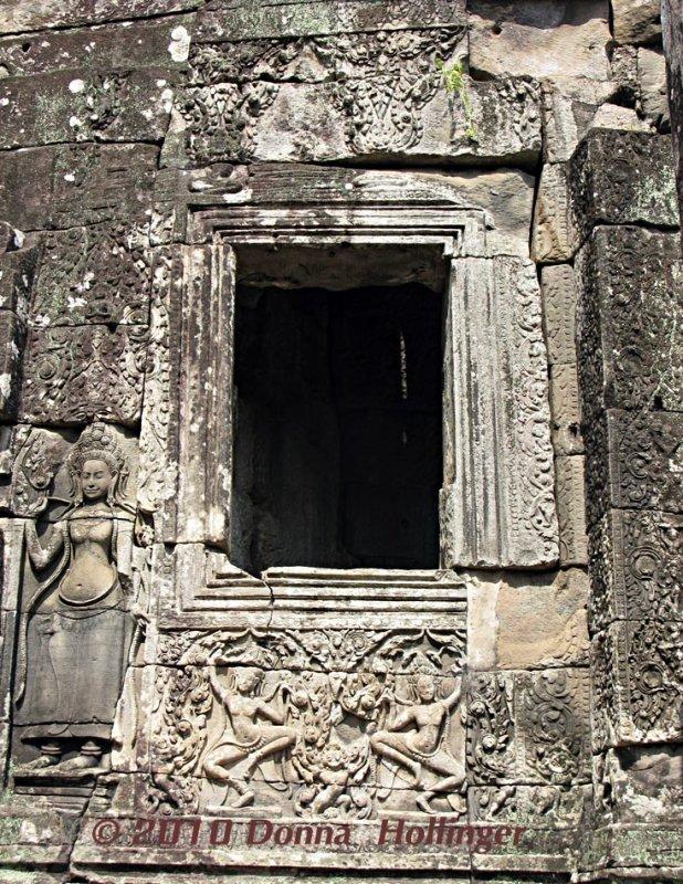 Portal for Apsara Dancers