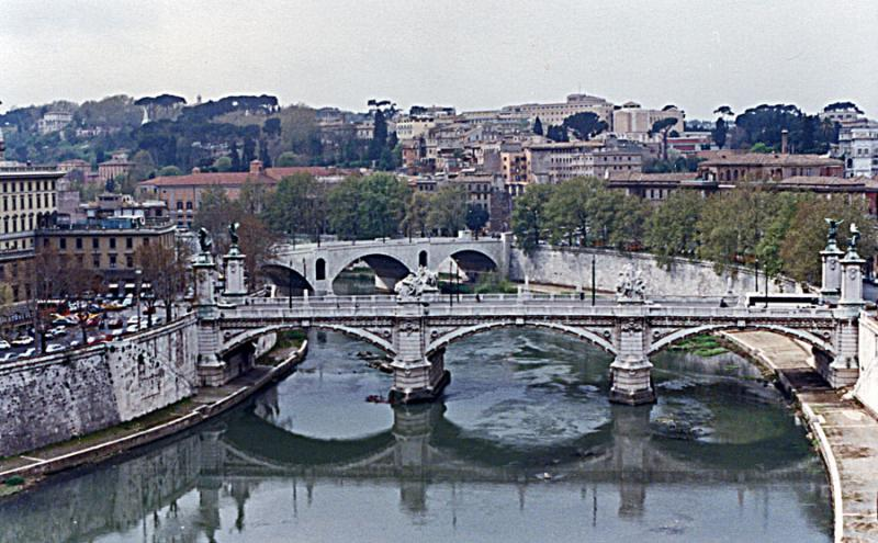 Bridge Beyond St. Angelo