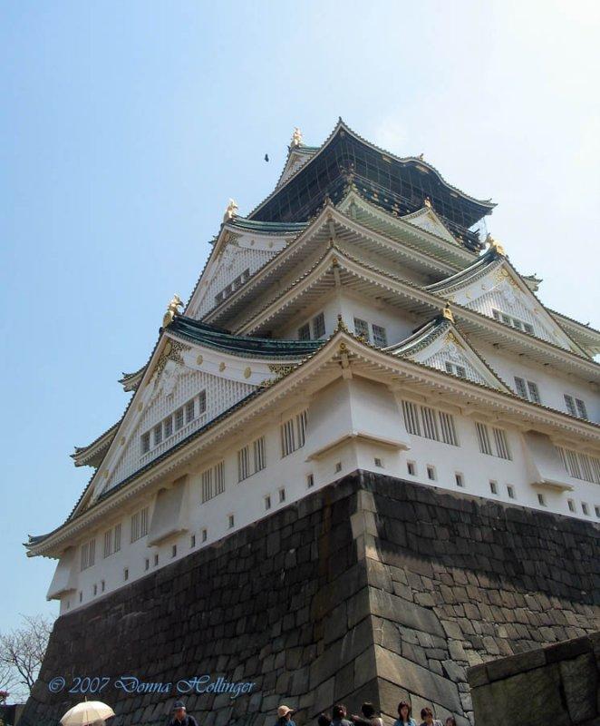 Castle at Osaka
