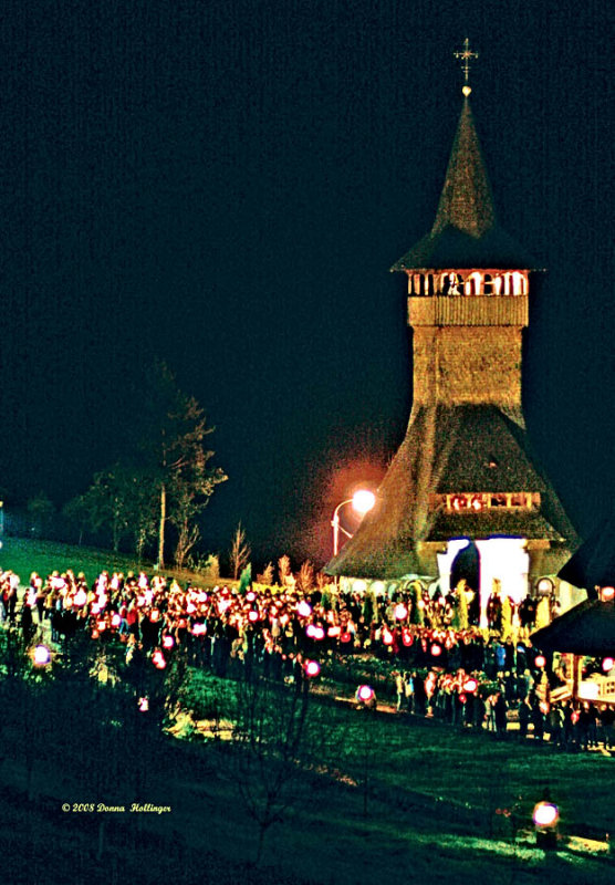Midnight Candlelight Procession