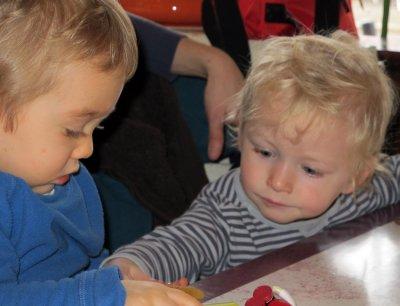 Playing - Martin and Sasha