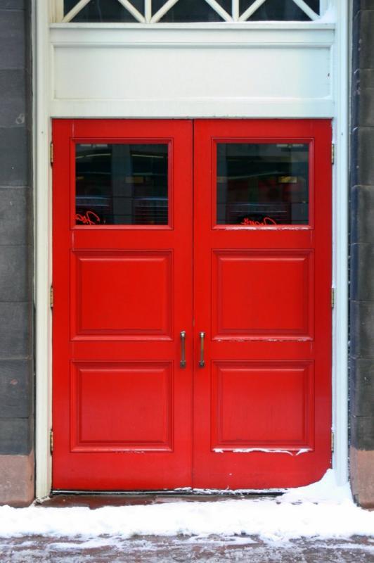 The Red Door....
