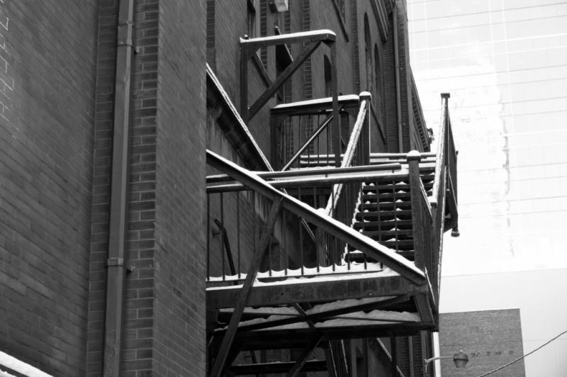 Fire escape......