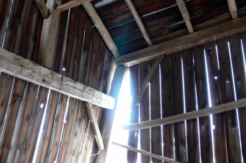 Inside the Ks old barn.....