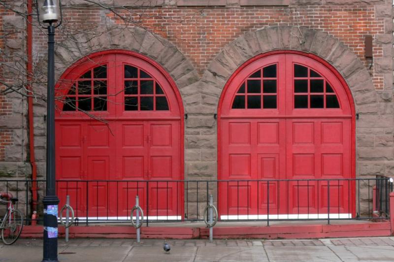 Firehall doors...