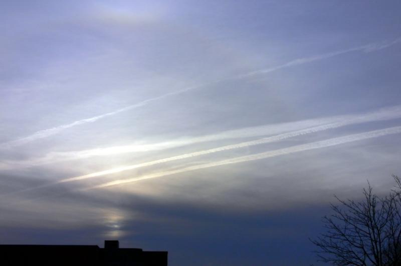 Early morning cloud formations....