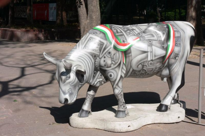 The Cow Parade - Museum of Anthroplogy, Mexico City
