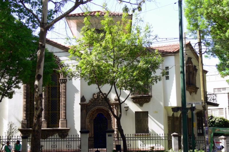 Downtown Mexico City, Polanco district.