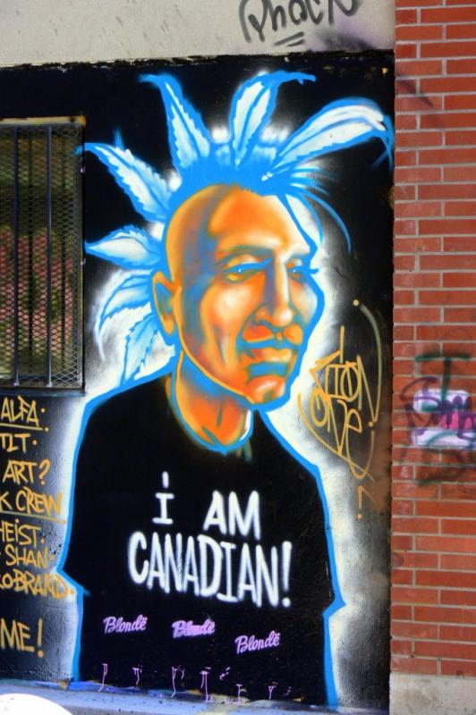 I AM CANADIAN.... - Images from the streets of Toronto, Queen West area.