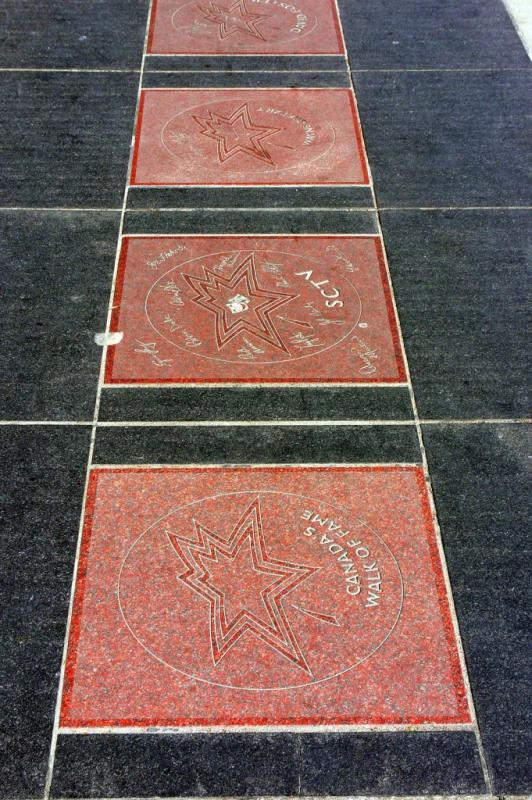 Stars from the Canadas Walk of Fame