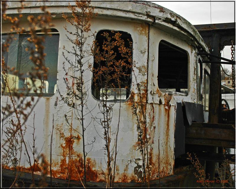 rusty boat