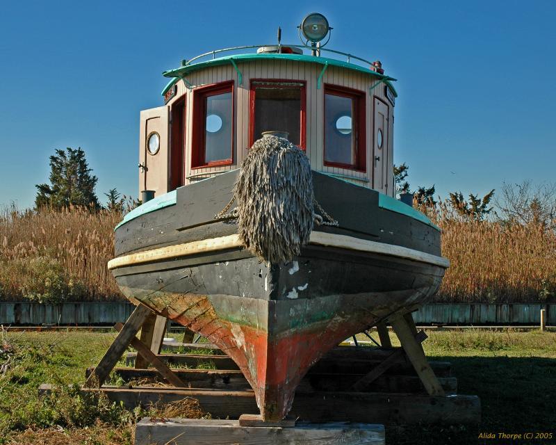 Tug boat, the Charlotte