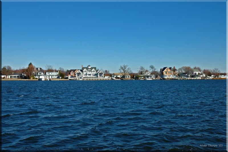 Homes on the Connetquot River