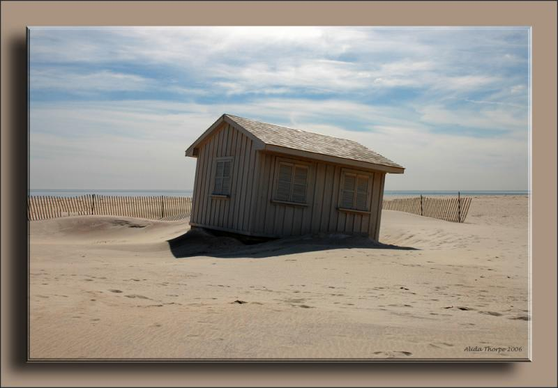 Jones Beach, beach hut