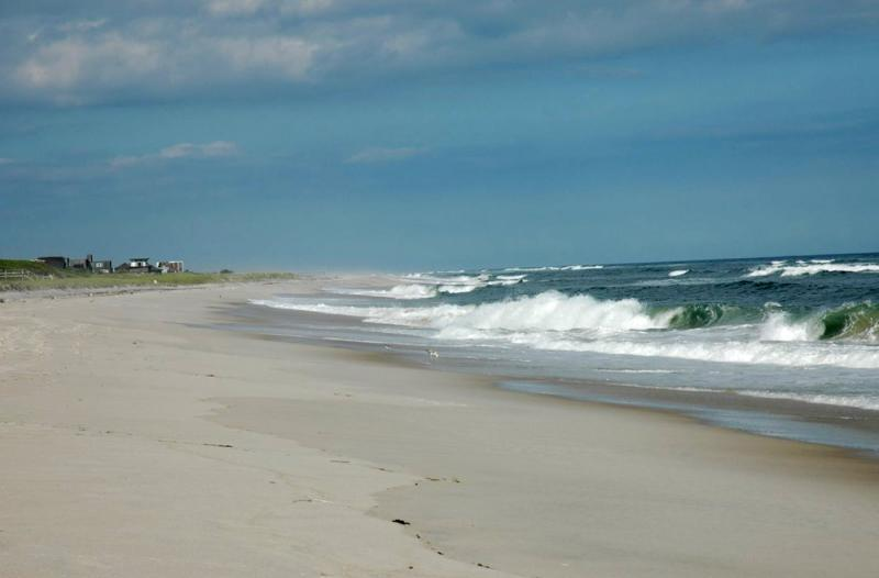Fire Island and the Atlantic Ocean
